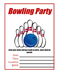 Bowling Fundraiser Flyer Template Printable Pdf Download