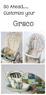 handmade and stylish replacement high chair covers for graco sewplicity com covers