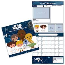 Year To Year Calendar Star Wars Jedis First Year Wall Calendar Exclusive Thinkgeek