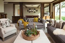 sofa with throw how to decorate family room traditional with pool table coffee table mustard yellow