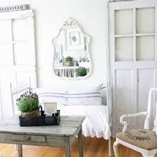 vintage shabby chic inspired office. Inspiration For A Vintage Home Office And Library In Chicago With White  Walls Medium Hardwood Shabby Chic Inspired W