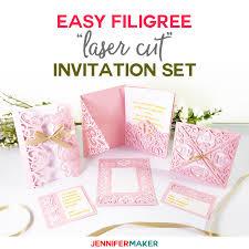diy wedding invitation templates free and plete svg cut file set weddings cricut