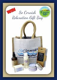 so cornish relaxation gift bag