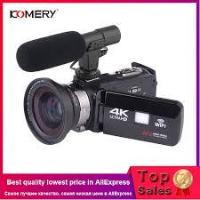 <b>KOMERY</b> 4K Camcorder <b>Video</b> Camera Wifi Night Vision 3.0 Inch ...