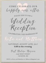14 Best Wedding Reception Invitation Wording Verses Images