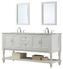 spencer double bathroom vanity with mirror 70