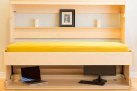 hidden bed furniture. Smart Spaces Hiddenbed Convertible 2in1 Murphy Wall Bed And Desk Hidden Furniture