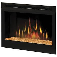 25 electric firebox w glass ember bed by dimplex