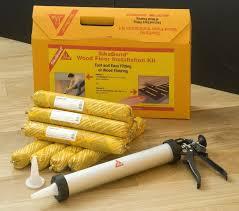 everbuild sikabond wood flooring flexible adhesive installation kit set 20m2 5055047209805