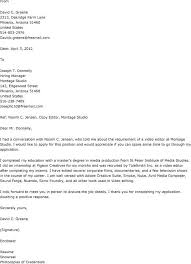 Writer Cover Letter Sample 12 Photo Editor Letters ...