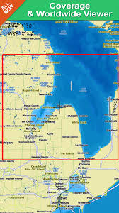 Amazon Com Saginaw Bay Gps Map Navigator Appstore For Android