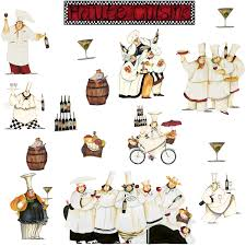 image of kitchen fat chef wall decor