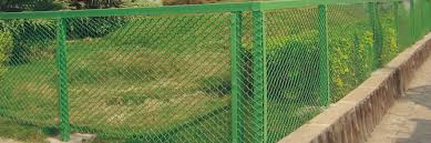 polymer mesh and garden fencing