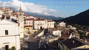 In volo sulla Piazza Roma di Capriati a Volturno (CE) - YouTube