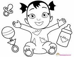 Vampirina Coloring Pages Lovely Muppet Babies Coloring Pages
