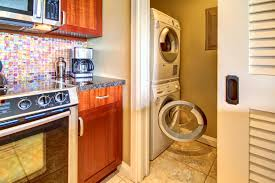 Laundry Room In Kitchen Kbm Hawaii Honua Kai Hkh 238 Luxury Vacation Rental At