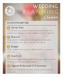 Printable Wedding Planner Wedding Planner Checklist 14 Free Word Pdf Psd