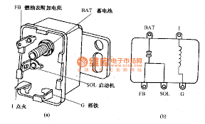 v pin relay connection diagram images v relay wiring and internal wiring circuit diagram of beijing cherokee starter relay