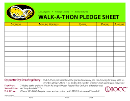 Walk A Thon Pledge Sheet Google Search Youth Ministry Walking
