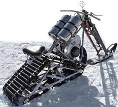antarctic snow chopper from junk parts