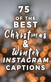 The Best Christmas Instagram Captions Helene In Between