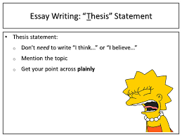 "essay writing take notes if black the font is write it fo shiz  9 essay writing ""thesis"" statement"