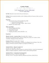 Freelance Writer Resume Sample Template User Guide Sample Template Freelance Writing Resume 18