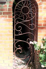 solid metal fence panels. Wrought Iron Gate Solid Metal Fence Panels I
