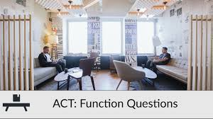 act function questions strategies act function questions strategies