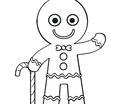 Gingerbread Man Coloring Picture Gingerbread Coloring Gingerbread
