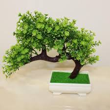office bonsai tree. Unique Bonsai 2018 25cm Artificial Plant Decoration For Office And Home New Bonsai Tree  In Pot From Sunyunqinglina 1945  DhgateCom Intended