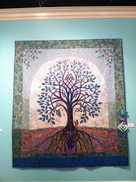 32nd Annual Capital City Quilt Show – Winners — Quilt Tallahassee & Best in Show: Blue Celtic Tree ... Adamdwight.com