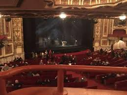 Cadillac Palace Theater Section Dress Circle L Row Ee Seat 5