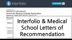 interfolio upload letter of recommendation interfolio medical school letters of recommendation youtube