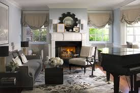 ethan allen rugs with beach style living room and wall art wood trim area rug balloon shades crown molding