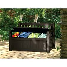 deck box for cushions bench resin wicker storage bench outdoor patio cushion garden design of extra