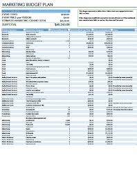 Download Marketing Event Budget Excel Spreadsheet Templates