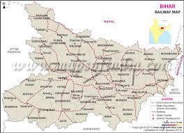 Bihar Railway Map