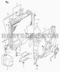 Diagram of parts under a car 5 cooling swift sf310 type 1 suzuki of diagram of