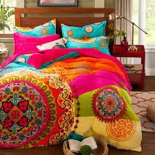 com paisley bohemian bedding for t96 boho duvet cover set farley velvet