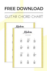 Guitar Chords Chart Pdf Free Guitar Chord Chart Pdf All Major Minor Chords Modern