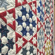 Festival of Quilts 2017 virtual tour: our 2017 highlights ... & Seven Sisters stars quilt Adamdwight.com