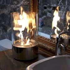 accenda portable tabletop ethanol fireplace