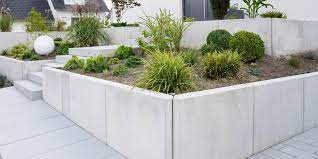 costs of concrete vs stone walls