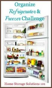 Organizing Refrigerator And Freezer Challenge Step By Step
