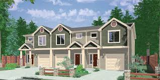 Townhouse Townhome Condo Home Floor Plans Bruinier Associates New 3 Bedrooms For Sale Set Plans
