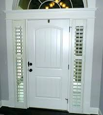 front door side window blinds front door side window blinds glass coverings curtains full size front