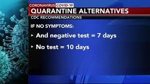 Coronavirus: CDC updates COVID-19 quarantine guidelines - 6abc Philadelphia