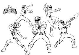 Small Picture Mighty Morphin Power Rangers Morpher Coloring Coloring Pages