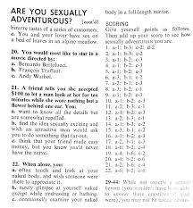 Sex quizes for couples